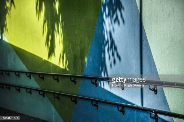 2017 Wall Shadows - Urban Linear Design And Color.