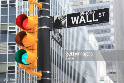 Wall Street, New York City, USA : Stock Photo