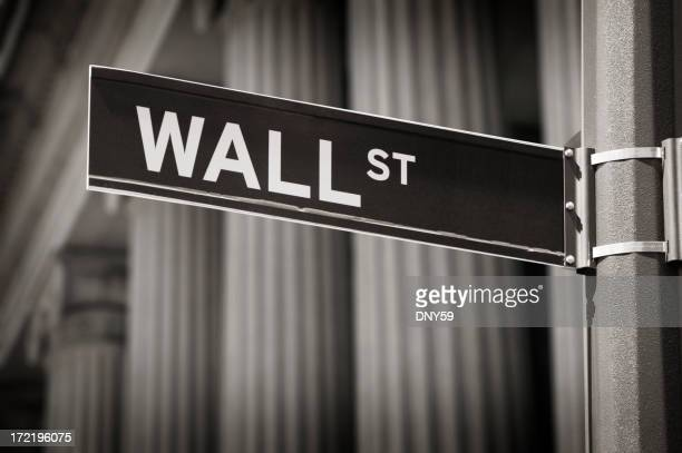 Signe de Wall Street