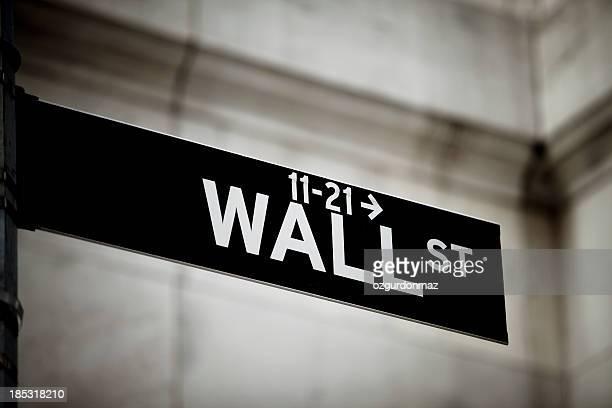 Wall-Street-Schild