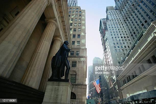 URBPE037 Wall Street, Stock Exchange, NYC