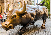 Wall Street, the Charging Bull or Wall Street Bull
