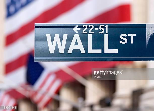 Wall Street-Street Sign