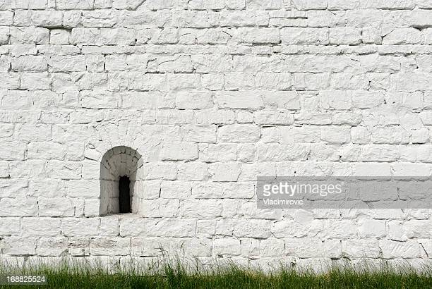 Wall white brick
