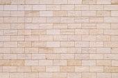 Wall with bricks