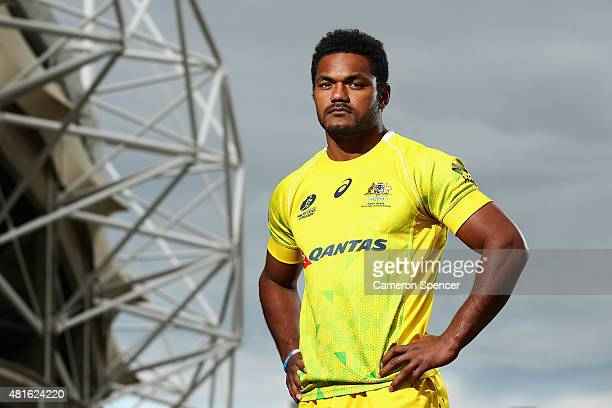 Wallabies player Henry Speight poses during an ARU media opportunity at Allianz Stadium on July 23 2015 in Sydney Australia Speight has signed a new...