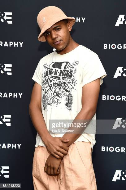 J Wallace attends the screening of AE 'Biography Presents Biggie The Life Of Notorious BIG' at DGA Theater on August 17 2017 in New York City