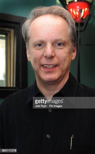 Wallace Gromit creator Nick Park on the occasion of Peter Sallis's 87th birthday whilst in the studio recording for the forthcoming Wallace Gromit TV...