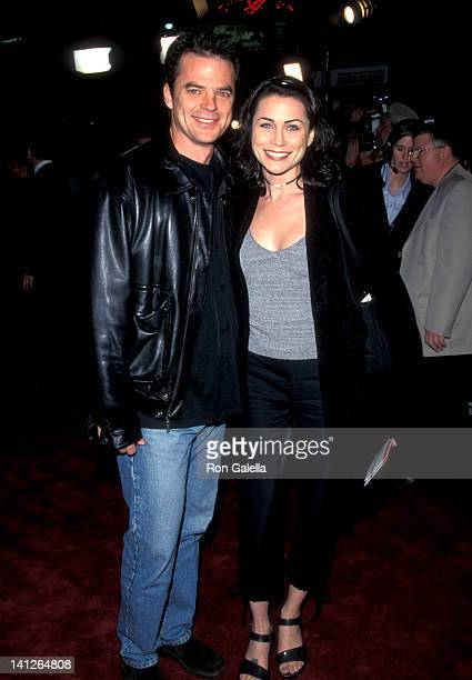 Wallace Kurth and Rena Sofer at the Premiere of 'The Mod Squad' Mann's Chinese Theatre Hollywood