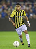 Wallace of Vitesse during the Dutch Eredivisie match between Vitesse Arnhem and NAC Breda at the Gelredome on october 25 2014 in Arnhem The...