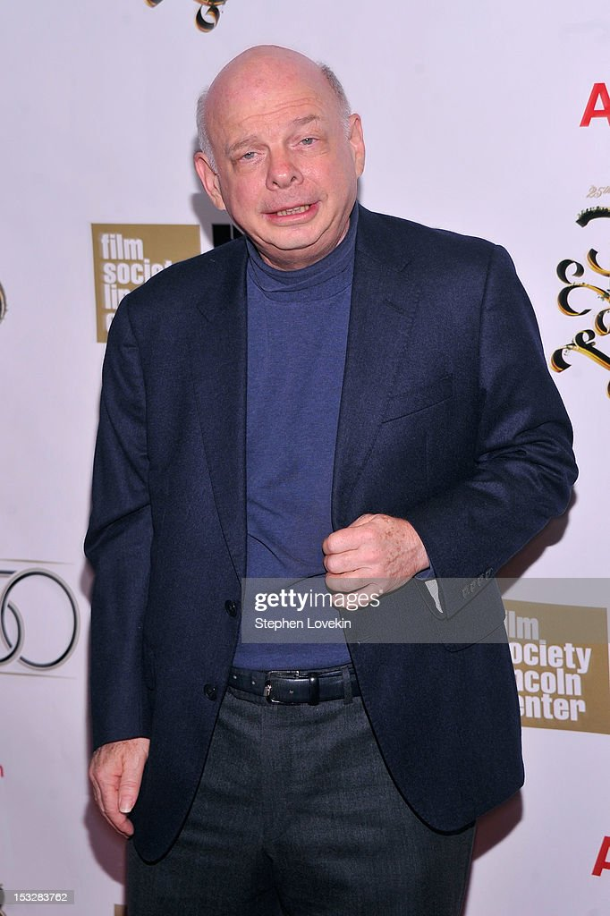 Wallace Shawn attends the 25th anniversary screening cast reunion of 'The Princess Bride' during the 50th New York Film Festival at Alice Tully Hall...