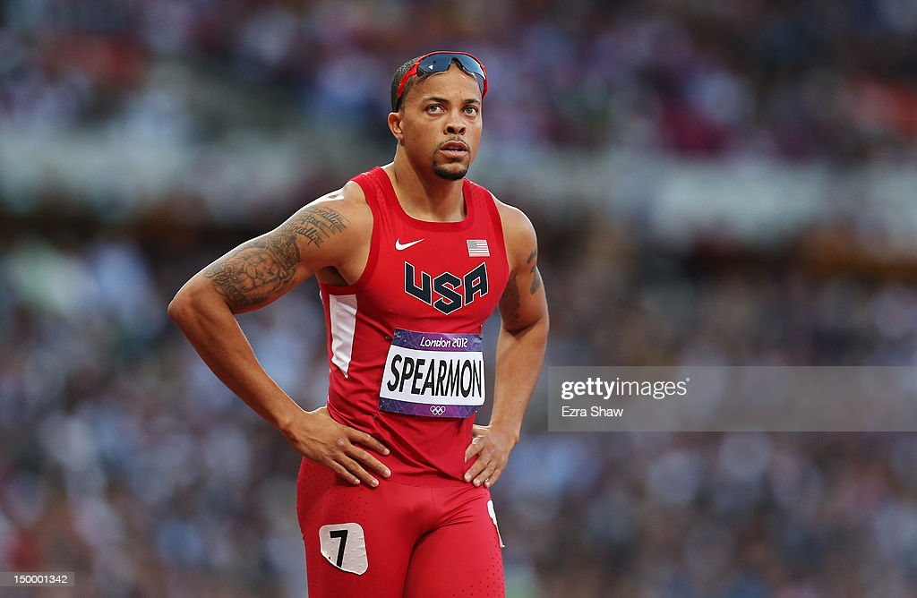 Wallace (ID) United States  city pictures gallery : Wallace Spearmon of the United States competes in the Men's 200m ...