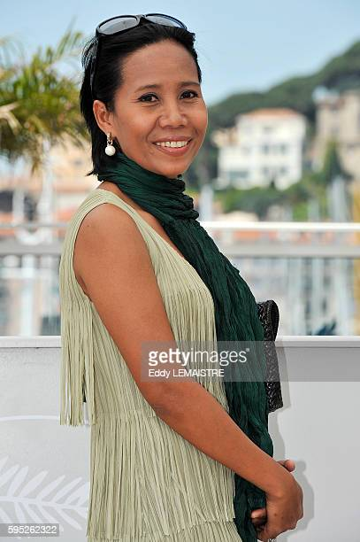 Wallapa Mongkolprasert at the photo call for Uncle Boonmee Who Can Recall His Past Lives during the 63rd Cannes International Film Festival