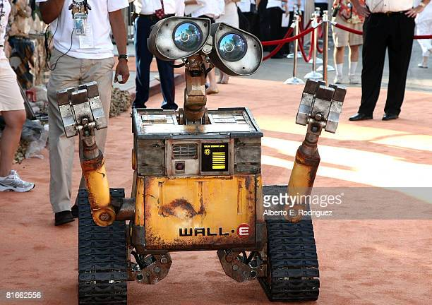 WallE arrives at the world premiere of DisneyPixar's film WallE held at the Greek Theater on June 21 2008 in Los Angeles California