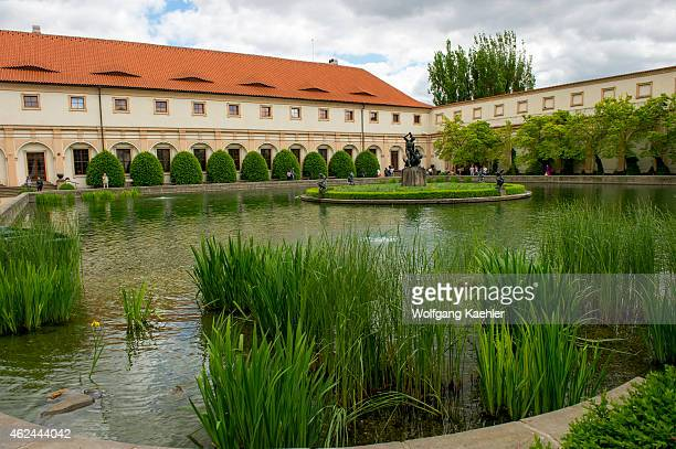 Senate palace stock photos and pictures getty images for Jardin wallenstein
