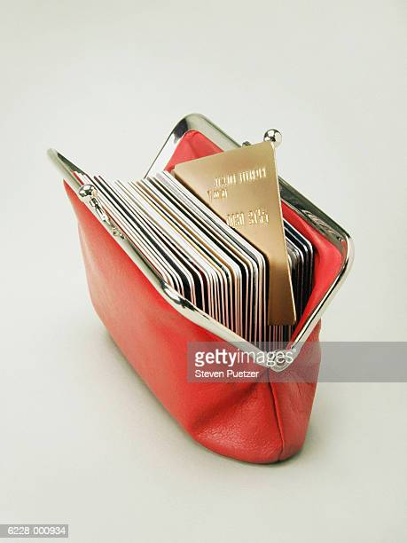 Wallet Full of Bank Card