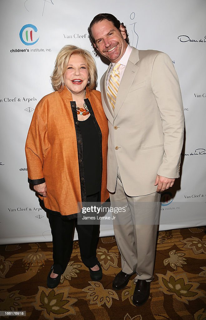 Wallis Annenberg and Charles Annenberg attend The Colleagues 25th annual spring luncheon honoring Wallis Annenberg held at the Beverly Wilshire Four Seasons Hotel on April 9, 2013 in Beverly Hills, California.