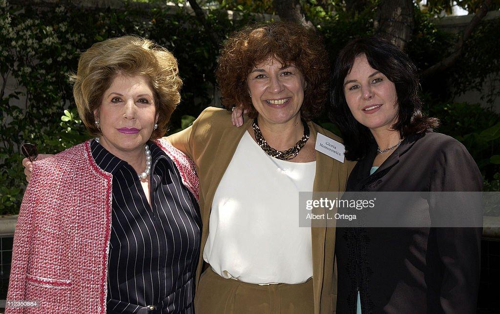 Wallis Annenberg, Gloria Nemerowicz & Mavis Nicholson Leno