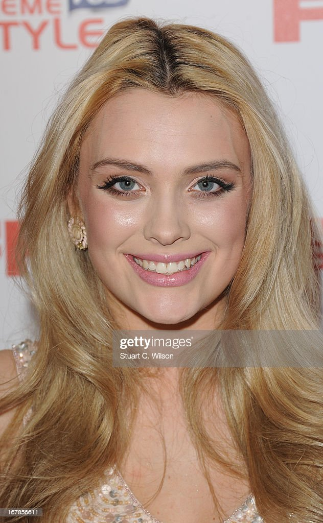 Wallis Day attends the FHM 100 Sexiest Women In The World 2013 Launch Party at Sanderson Hotel on May 1, 2013 in London, England.