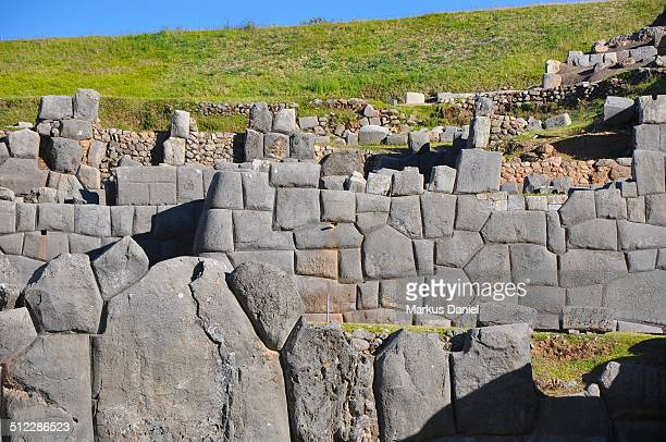 Walls and Stones of Sacsayhuaman, Cusco, Peru