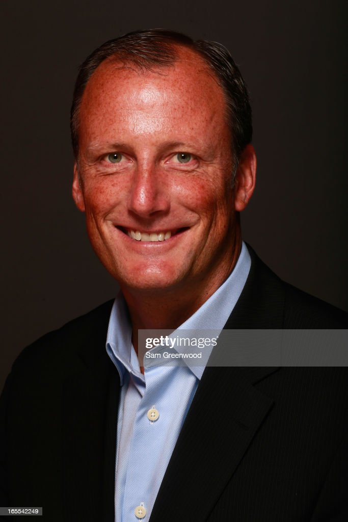 Wally Hayward, CEO, W Partners poses at the World Congress Of Sports Executive Portrait Studio on April 4, 2013 in Naples, Florida.