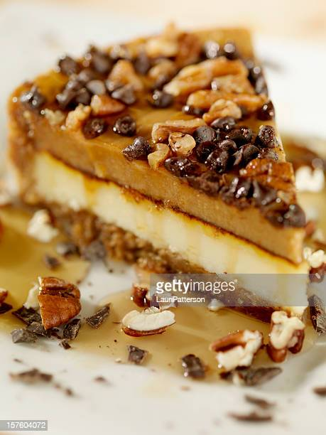 Walnut and Caramel Cheesecake