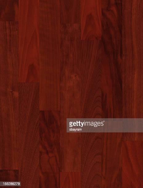 クルミ材の寄木張りの床(XXXL