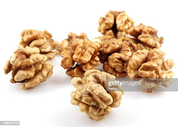 Walnuts isolated