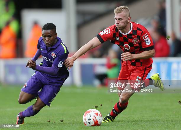 Walsall's Jason McCarthy and Charlton Athletic's Ademola Lookman