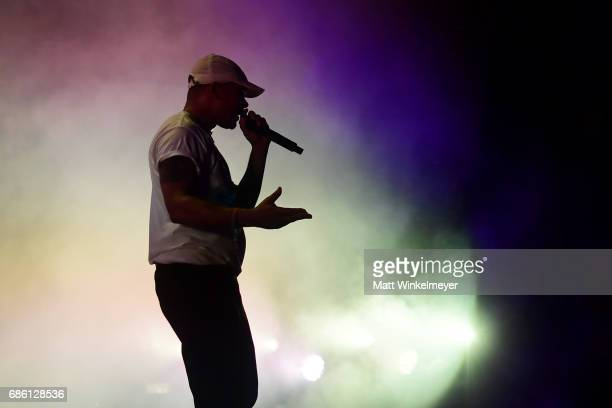 Walshy Fire of Major Lazer performs at the Surf Stage during 2017 Hangout Music Festival on May 20 2017 in Gulf Shores Alabama