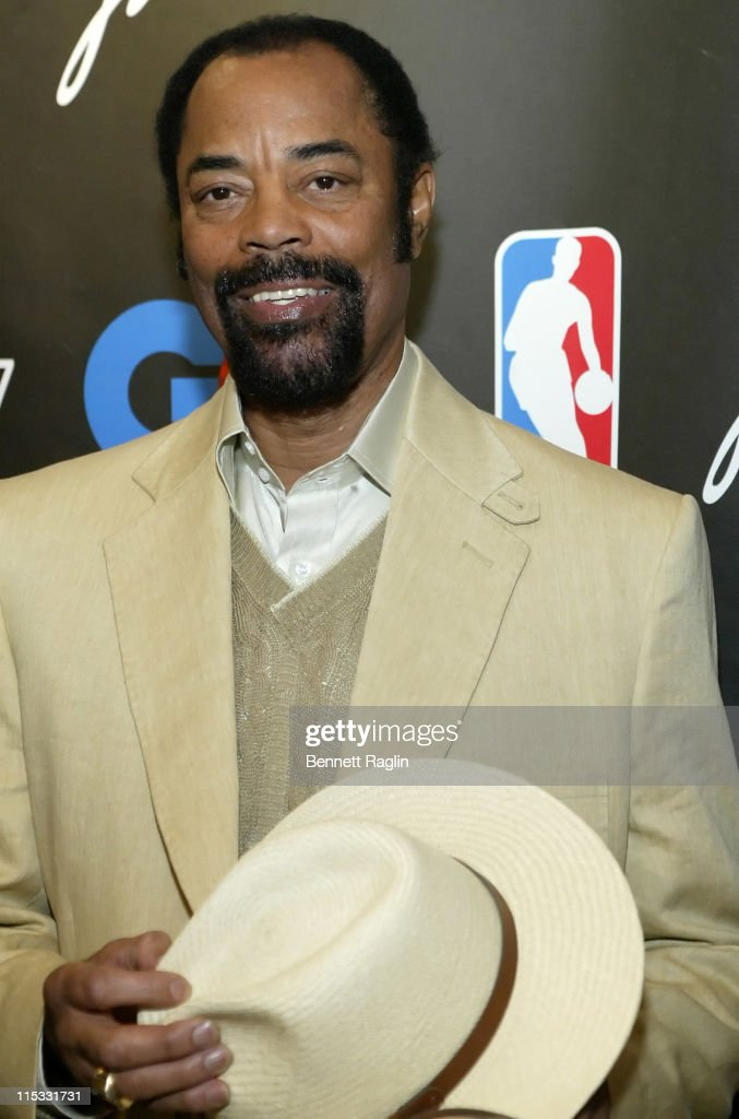 Walt 'Clyde' Frazier during GQ and NBA Present Courtture '07 CoHosted by Tony Potts and Frederique Van Der Wal at NBA Store in New York City New York...