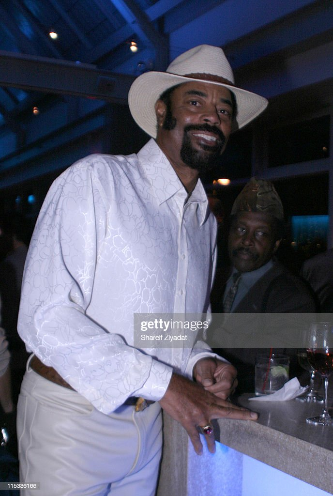 Walt 'Clyde' Frazier during Grand Opening of Earl Monroe's Restaurant in New York City October 31 2005 at Earl Monroe's in New York City New York...