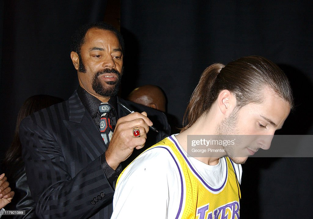Walt 'Clyde' Frazier during TNT Sports Presents the American Express 'Magic' Johnson All Star Celebration at Shrine Auditorium in Los Angeles, California, United States.
