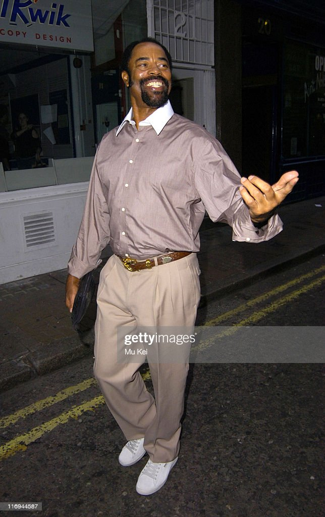 Walt 'Clyde' Frazier during Walt 'Clyde' Frazier Sighting at Covent Garden in London - October 11, 2005 at Covent Garden in London, Great Britain.