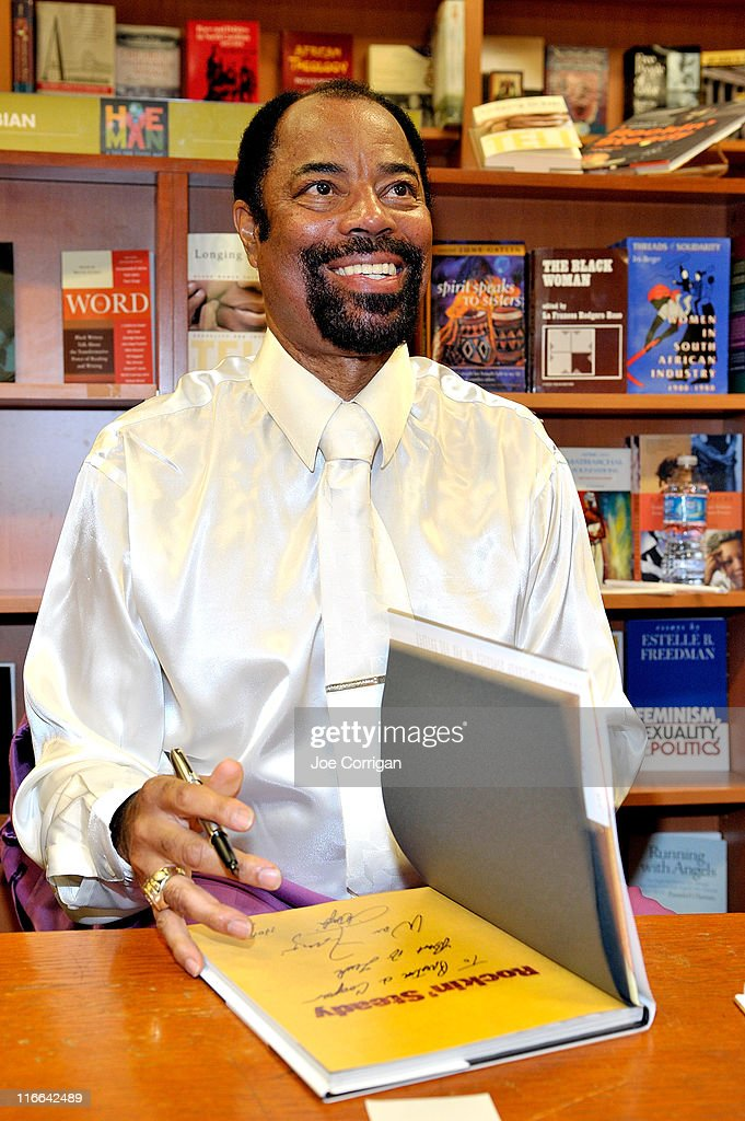Walt Clyde Frazier promotes his new book 'Rockin' Steady A Guide To Basketball And Cool' at the HueMan Bookstore Cafe on June 16 2011 in New York City