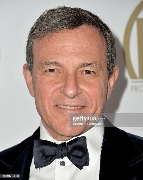 Walt Disney Company Chairman and CEO Bob Iger attends the 25th annual Producers Guild of America Awards at The Beverly Hilton Hotel on January 19...