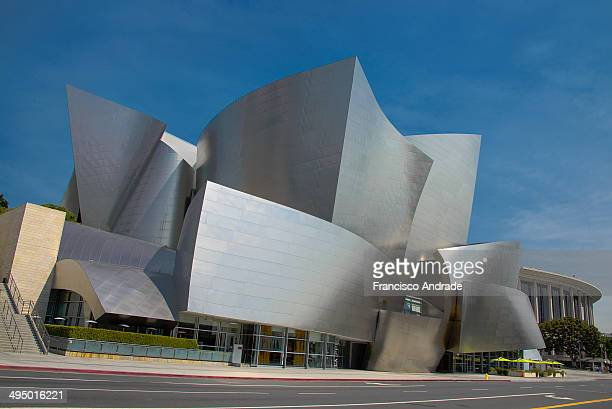 CONTENT] Walt Disney Concert Hall in downtown Los Angeles California