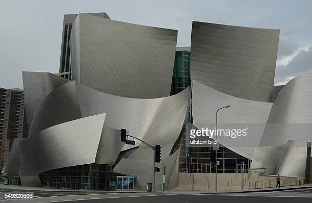 Walt Disney Concert Hall in Los Angeles architect Frank Gehry
