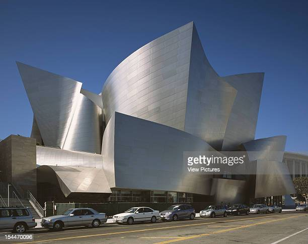 Walt Disney Concert Hall Los Angeles United States Architect Frank Gehry Walt Disney Concert Hall North West View Along South Grand
