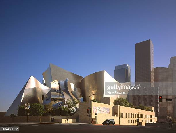 Walt Disney Concert Hall Los Angeles United States Architect Frank Gehry Walt Disney Concert Hall South East View Towards Downtown