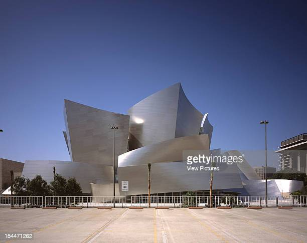 Walt Disney Concert Hall Los Angeles United States Architect Frank Gehry Walt Disney Concert Hall View Looking East From Car Park