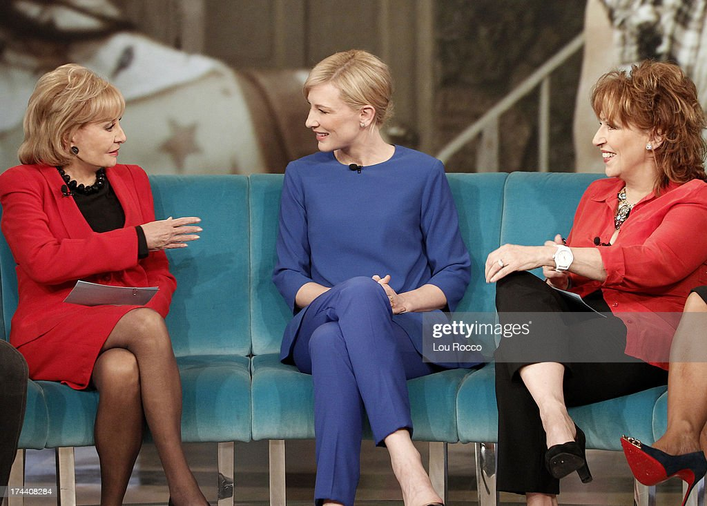 Affiliate WLS-Chicago's Val Warner guest co-hosts; Oscar® winner Cate Blanchett; Johnny Carson's nephew, Jeff Sotzing; performance by J. Cole appeared today, July 23, 2013 on 'The View.' 'The View' airs Monday-Friday (11:00 am-12:00 pm, ET) on the ABC Television Network. BARBARA