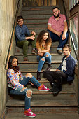 Family's 'Recovery Road' stars Kyla Pratt as Trish David Witts as Craig Jessica Sula as Maddie Daniel Franzese as Vern and Sebastian De Souza as Wes