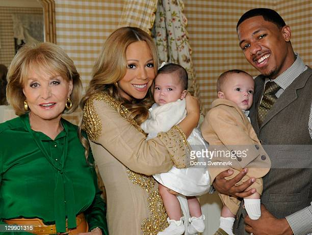 ABC NEWS Barbara Walters interviews pop superstar Mariah Carey and her husband Nick Cannon