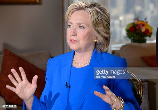 ABC NEWS David Muir conducts a oneonone interview with Democratic Presidential Candidate Hillary Clinton on the Iran deal her email as Secretary of...