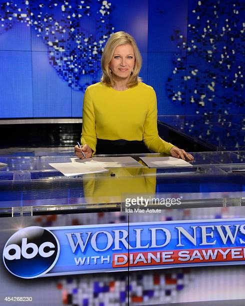 ABC NEWS Diane Sawyer signs off on her last broadcast as anchor of WORLD