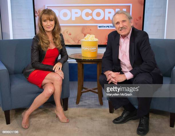 DIGITAL Peter Travers talks to Jane Seymour for the ABC NEWS DIGITAL program POPCORN WITH PETER TRAVERS The series features interviews with todays...