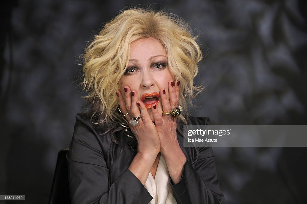 ABC NEWS - Eighties pop music icon <a gi-track='captionPersonalityLinkClicked' href=/galleries/search?phrase=Cyndi+Lauper&family=editorial&specificpeople=171290 ng-click='$event.stopPropagation()'>Cyndi Lauper</a>, who may be the first woman to win a Tony for best original score for her debut musical, was named 'Person of the Week' on WORLD NEWS WITH DIANE SAWYER, 5/3/13, airing on the ABC Television Network. (Photo by Ida Mae Astute/ABC via Getty Images) CYNDI