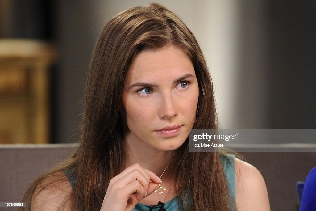 ABC NEWS - EXCLUSIVE - <a gi-track='captionPersonalityLinkClicked' href=/galleries/search?phrase=Amanda+Knox&family=editorial&specificpeople=4681704 ng-click='$event.stopPropagation()'>Amanda Knox</a> - the college junior who became the center of a dramatic murder trial in Italy, conviction and the court appeal that finally acquitted and freed her - speaks to Diane Sawyer during an exclusive interview airing on TUESDAY, APRIL 30 (10-11pm, ET) on the ABC Television Network as well as all ABC News programs and platforms. KNOX