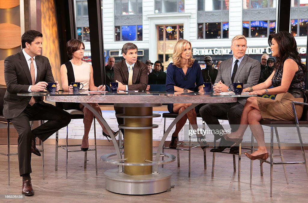 News' Juju Chang appears on 'Good Morning America,' 4/10/13, airing on the ABC Television Network. (Photo by Fred Lee/ABC via Getty Images) JOSH